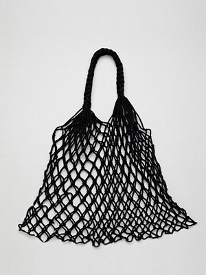 Monki crochet net shopper