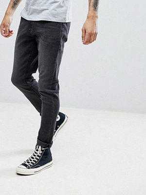 Jeans - LDN DNM Slim Fit Jeans in Washed Black