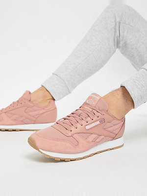 Sneakers & streetskor - Reebok Classic Leather ESS Trainers In Pink BS9723 - Pink