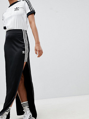 Adidas Originals Fashion League Maxi Skirt With Extreme Slit
