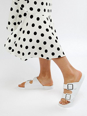 ASOS DESIGN Flax Jelly Flat Sandals