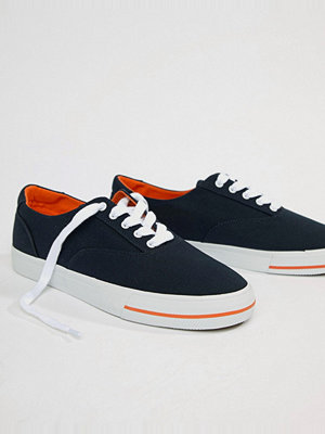 Polo Ralph Lauren CP-93 Capsule Canvas Trainers in Navy - Aviator navy