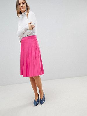 Zibi London Pleated Skirt - Fushia