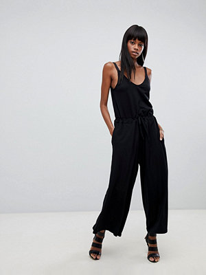 G-Star Wide Leg Jumpsuit - Dk black