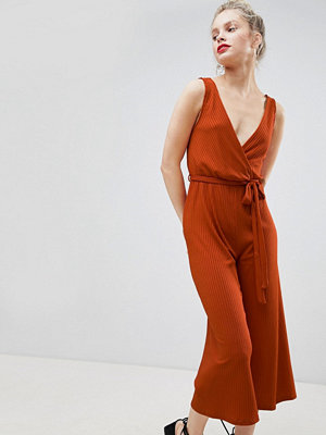 New Look Culotte Jumpsuit - Orange