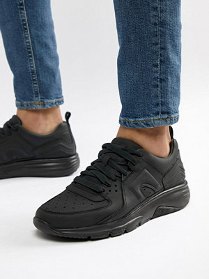 Sneakers & streetskor - Camper Drift Chunky Sole Trainers In All Black