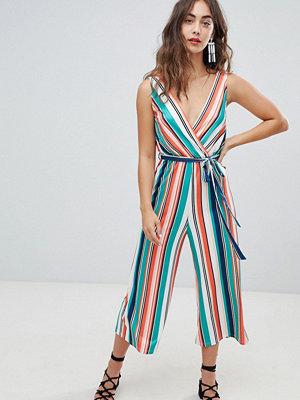 New Look Stripe Rib Jumpsuit