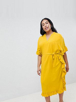 Junarose Midi Kimono With Tie Waist