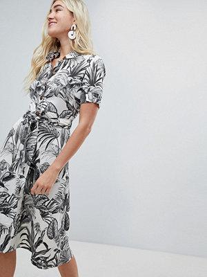 Warehouse Jungle Print Shirt Dress