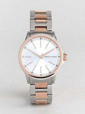 Klockor - Armani Exchange AX4363 Banks Bracelet Watch with Mixed Metal Strap