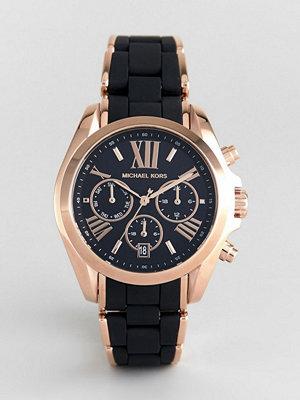 Klockor - Michael Kors MK6580 Bradshaw Watch with Silicone & Metal Strap