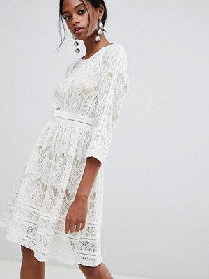 Liquorish Lace Skater Dress