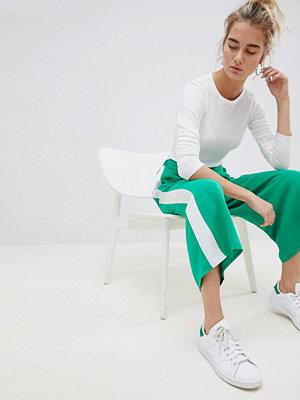 ASOS DESIGN Culotte-byxor med rand i sidan