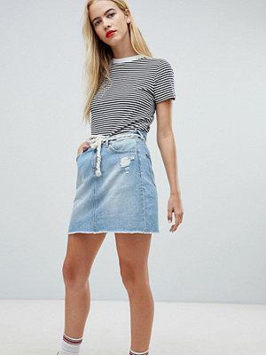 Tommy Jeans Denim Skirt - Light blue