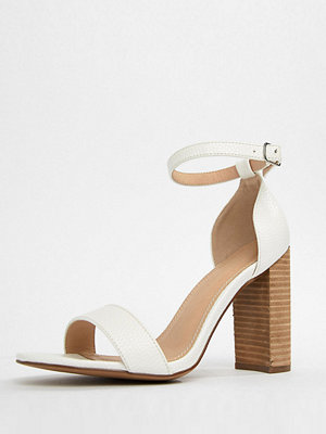 ASOS DESIGN Tamsina Wide Fit Heeled Sandals