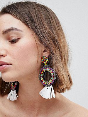 Glamorous örhängen Multi Circular Statement Earrings (+)