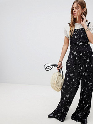 Free People Sweet in the Streets Mönstrad jumpsuit