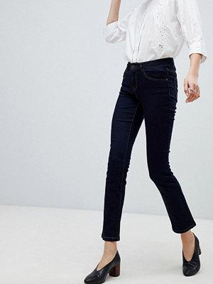 Vero Moda Retro Raka jeans Mörkblå denim