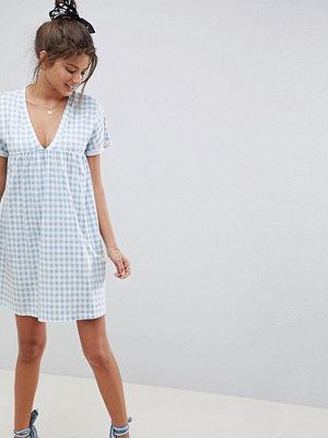 ASOS DESIGN ultimate cotton smock dress in gingham - Gingham