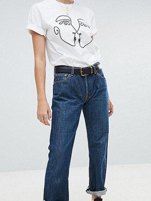 Reclaimed Vintage revived Levi jeans in dark wash - Dark wash