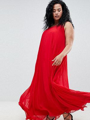 Missguided Plus Pleated Maxi Dress