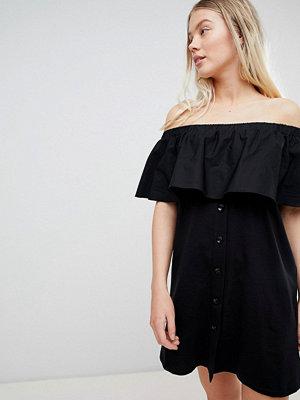 Pull&Bear off the shoulder bardot dress