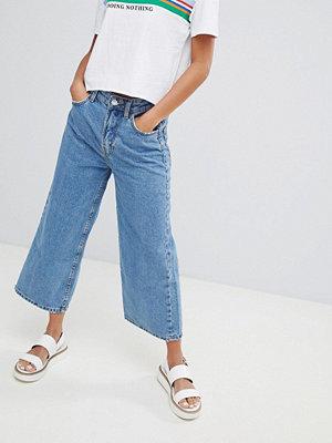 Bershka Culotte-byxor i denim