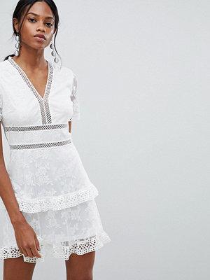 Liquorish lace Trim Dress
