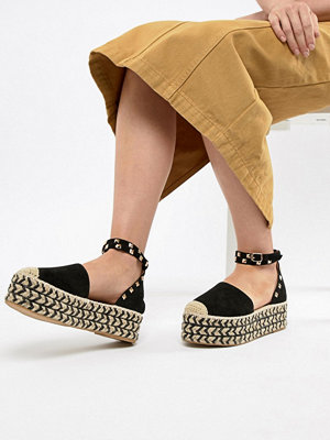 PrettyLittleThing Stacked Espadrille Sandals