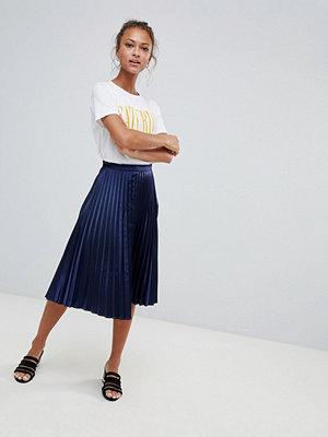 Only Satin Plisse Skirt