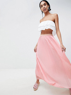 B.Young Maxi Skirt - Rose pearl