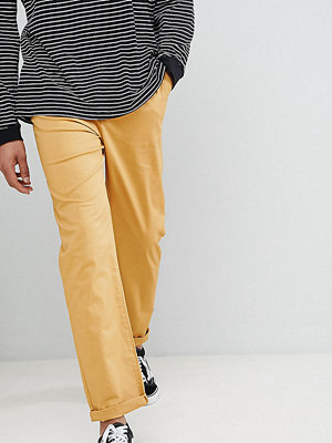 ASOS DESIGN Tall Skater Chinos In Mustard - Wood thrush