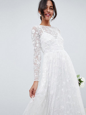 ASOS Edition all over embellished and embroidered wedding dress