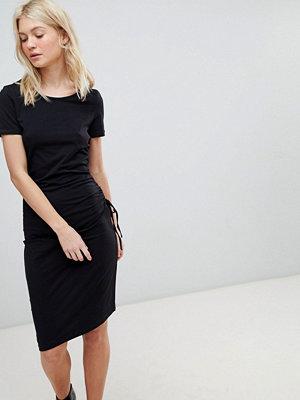 Vero Moda Gathered Side Midi Dress