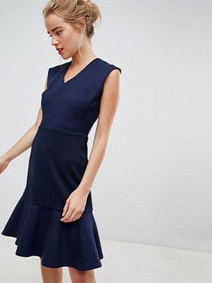 Closet London drop hem mini skater dress