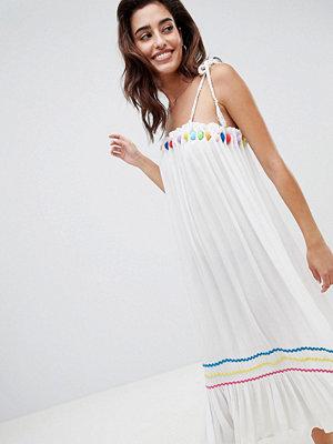 River Island multi colour pop beach midi dress