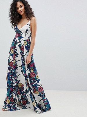 Free People through the vine printed maxi dress - Ivory