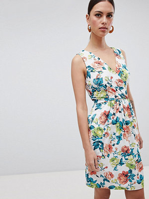 Closet London Floral Print Mini Dress