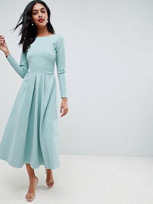 Closet London Long Sleeved Dress - Mint