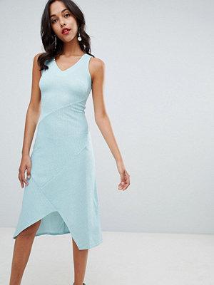 Closet London V Neck Midi Dress