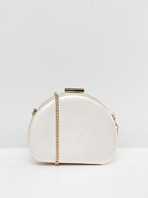 Miss KG kuvertväska Oval Structured Match Clutch Bag