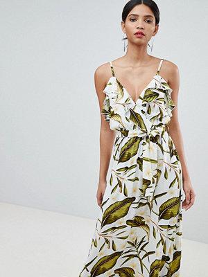 Y.a.s Tropical Wrap Maxi Dress