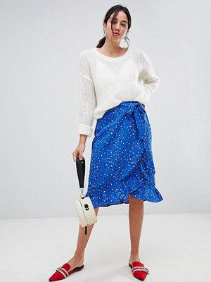 Vero Moda Aware Animal Print Wrap Skirt