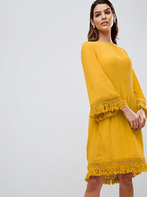Y.a.s Tassel Detail Smock Dress