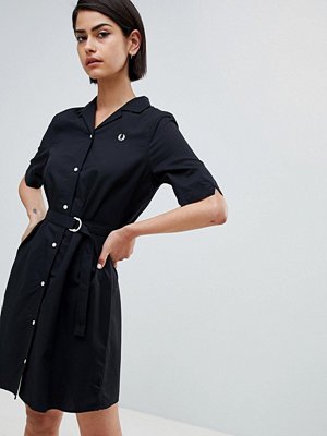 Fred Perry Belted Shirt Dress