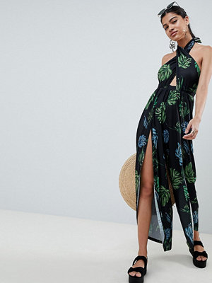 Jumpsuits & playsuits - ASOS DESIGN Jumpsuit med korslagda band framtill