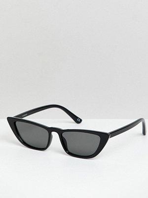 Solglasögon - ASOS DESIGN angled cat eye