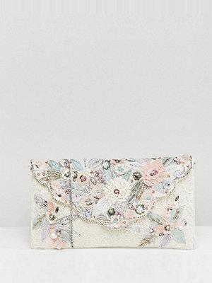 Accessorize kuvertväska Florence lace embellished envelope clutch