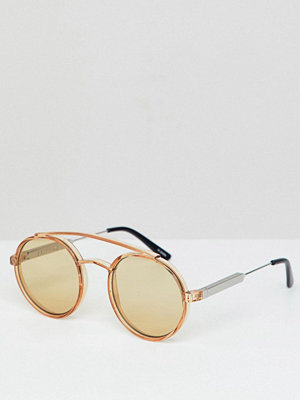 Solglasögon - Spitfire Spiftire Round Sunglasses In Tan