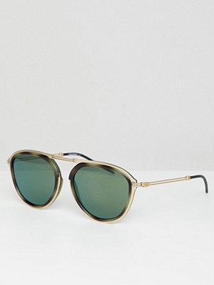 Solglasögon - Emporio Armani Round Sunglasses